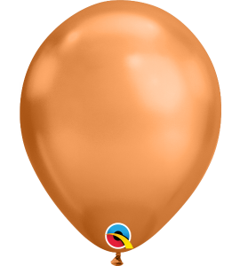 Palloncini in lattice 11rnd chrome copper 100pz