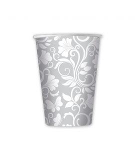 Bicchiere celebrity argento metal 8 bicchieri 200cc