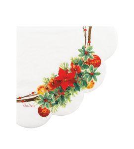 Tovaglioli Christmas joy 16 tovaglioli 33x33
