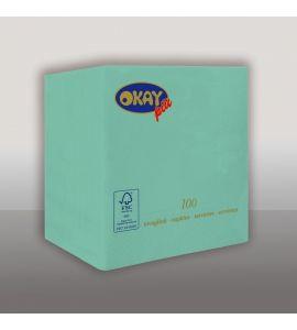 Tovaglioli colorati 2veli 25x25 conf da 100pz - TIFFANY