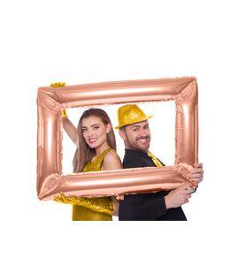 Pallonicno mylar super shape cornice rose gold 60X85cm