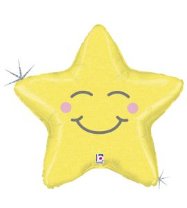 Palloncino mylar chubby star 26 pollici