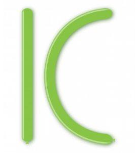 Palloncini modellabili 260 verde lime 100 pz