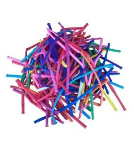 Palloncini modellabili 260 colori assortiti 100 pz