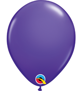 Palloncini in lattice 5rnd purple violet