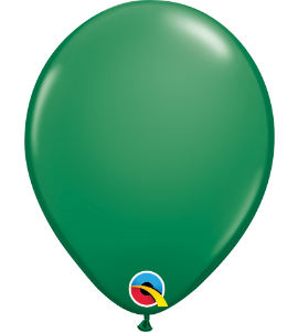 Palloncini in lattice 5rnd green 100pz