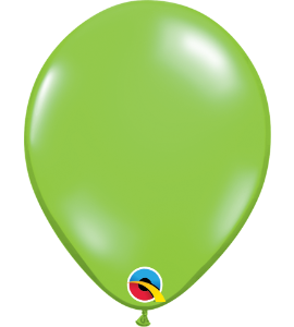 Palloncini in lattice 5rnd lime green 100 pz