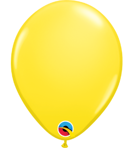 Palloncini in lattice 5rnd yellow 100 pz