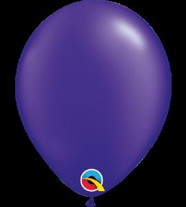 Palloncini in lattice 5rnd pearl quartz purple100 pz