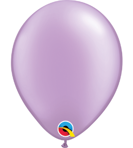 Palloncini in lattice 5rnd pearl lavander 100pz