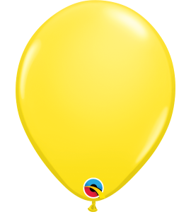 Palloncini in lattice 11rnd yellow 100 pz