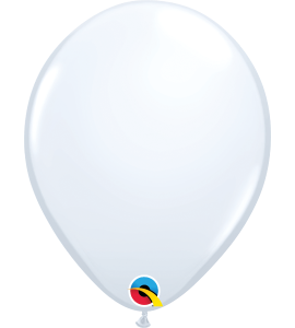 Palloncini in lattice 11rnd white 100 pz