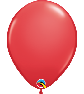 Palloncini in lattice 11rnd red 100 pz