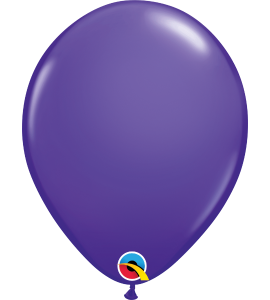 Palloncini in lattice 11rnd purple violet 100 pz