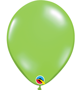 Palloncini in lattice 11rnd jewel lime 100 pz