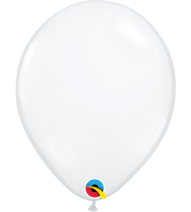 Palloncini in lattice 11rnd diamond clear 100 pz