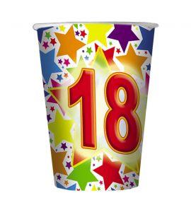 18 Anni Bicchiere 200cc 10pz
