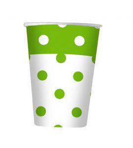 Pois verde mela bicchiere 200cc 10pz