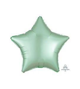 Stella mylar  verde menta satin  18 pollici