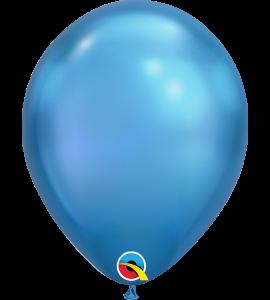 Palloncini in lattice 7rnd chrome blue 100pz