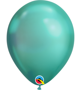 Palloncini in lattice 11rnd chrome green 100pz