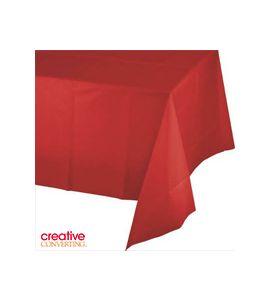 Tovaglia in Plastica Rosso (Classic Red) 137X274cm