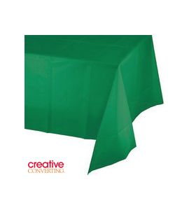 Tovaglia in Plastica Verde Smeraldo (Emerald Green) 137X274cm