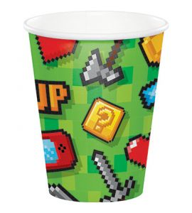 Gaming Party Bicchiere 266cc 8pz