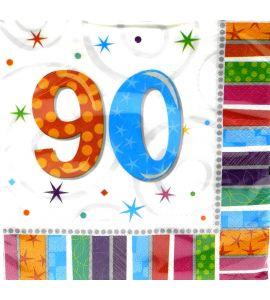 90 anni Radiant Tovaglioli 33x33 16pz