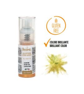 Spray Decora Glitterato Oro