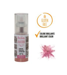 Spray Decora Glitterato Rosa