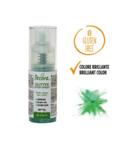 Spray Decora Glitterato Verde