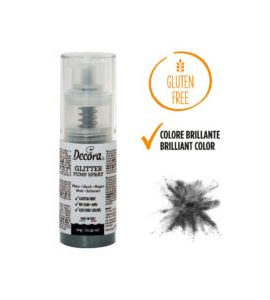 Spray Decora Glitterato Nero