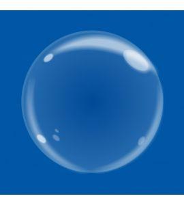 Bubble trasparente chrome 10 pollici