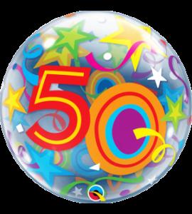 Bubble Qualatex 50 star 22 pollici