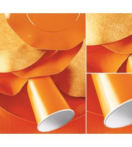 Piatti grandi twenty arancio 29,5 cm 10pz