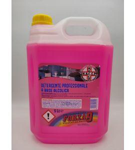 Detergente professionale a base alcolica 5lt