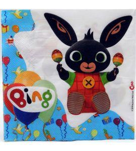 Bing - Tovaglioli 33x33cm 20pz