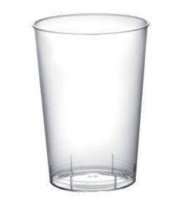 Bicchieri in plastica trasparente 230cc 50pz