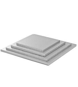 Cakeboard Quadrato Decora 25x25cm Altezza 1,2cm