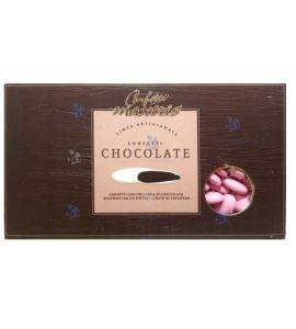 Confetti Maxtris cioccolato fondente rosa 1gk