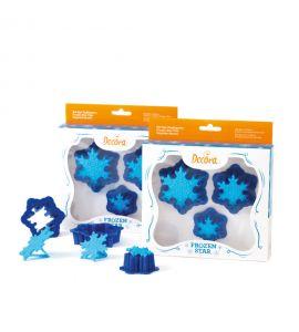 Kit Tagliapasta Decora Frozen Star 3pz