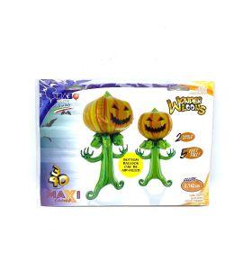 Palloncino MaxiLoons  Zucca Spaventosa - Halloween