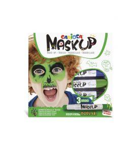 Mask up monster 3pz