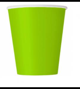 Bicchieri Twenty Verde Mela 250cc 10pz