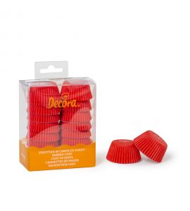 Pirottini Decora Mini Muffin Rossi 200pz