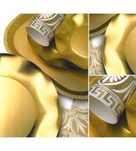 Piatti Dessert Twenty Oro Etrusco 20cm 10pz