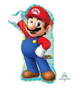 Palloncino mylar  super shape Super Mario 33 pollici