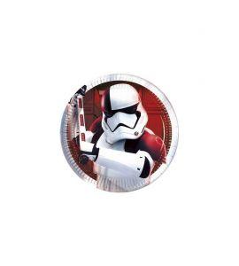 Piatto metal Star Wars 20cm 8pz