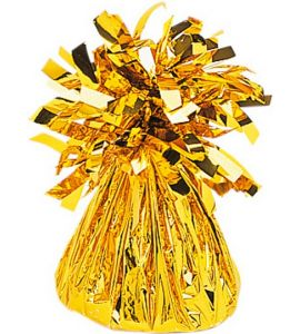 Pesetto oro per palloni ad elio 170gr